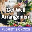 Florists Choice Get Well Arrangement