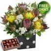 Native Arrangement With Free Chocolates